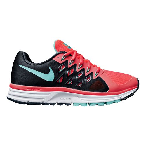 Womens Nike Air Zoom Vomero 9 Running Shoe - Black/Pink 7