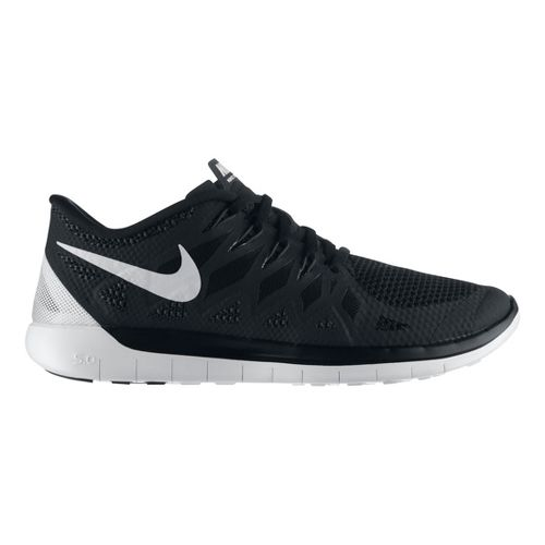 Mens Nike Free 5.0 Running Shoe - Black 9.5