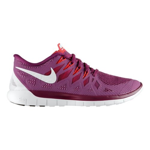 Womens Nike Free 5.0 Running Shoe - Grape 7.5