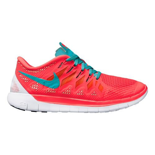 Womens Nike Free 5.0 Running Shoe - Pink 8.5