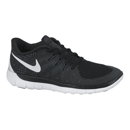 Kids Nike Free 5.0 (GS) Running Shoe - Black 4.5
