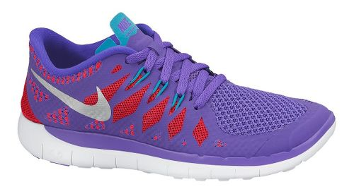 Kids Nike Free 5.0 Running Shoe - Purple 5.5Y