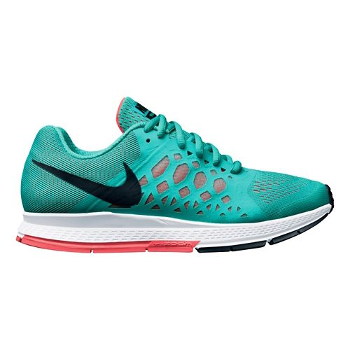 Womens Nike Air Zoom Pegasus 31 Running Shoe - Jade 9