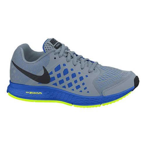 Kids Nike Air Zoom Pegasus 31 GS Running Shoe - Grey/Blue 5