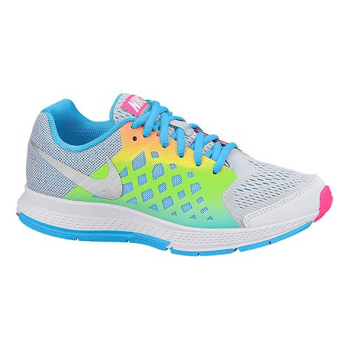 Kids Nike Air Zoom Pegasus 31 GS Running Shoe - Rainbow 3.5