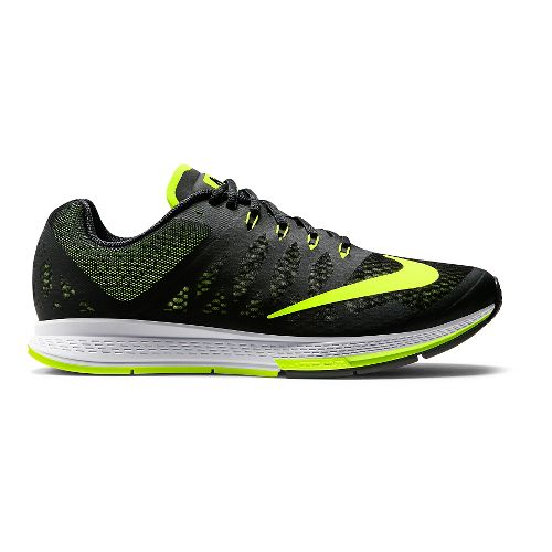 Mens Nike Air Zoom Elite 7 Running Shoe - Black 12