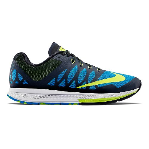 Mens Nike Air Zoom Elite 7 Running Shoe - Blue 10.5