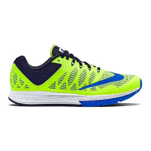 Mens Nike Air Zoom Elite 7 Running Shoe - Volt/Black 12