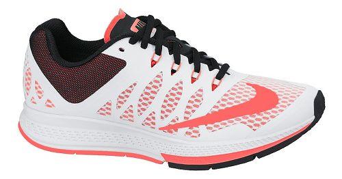 Womens Nike Air Zoom Elite 7 Running Shoe - White 11