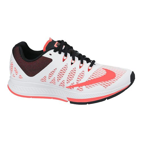 Womens Nike Air Zoom Elite 7 Running Shoe - White 10.5