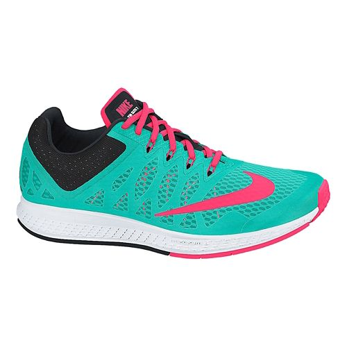 Womens Nike Air Zoom Elite 7 Running Shoe - Jade 9