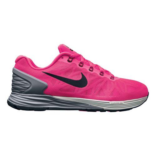 Womens Nike LunarGlide 6 Running Shoe - Hot Pink 11