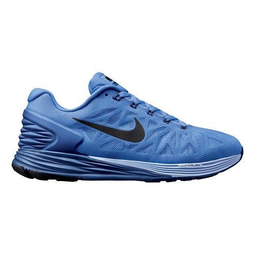 Womens Nike LunarGlide 6 Running Shoe - Periwinkle 7