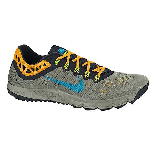 Mens Nike Air Zoom Terra Kiger 2 Trail Running Shoe - Stone/Black 12.5