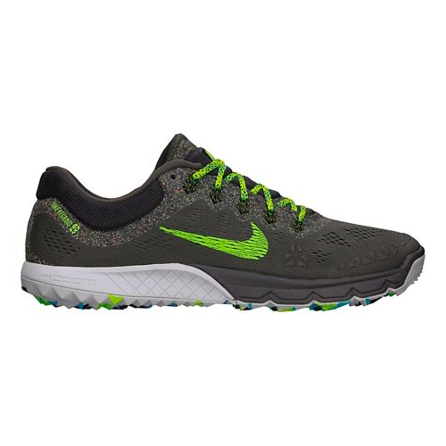 Mens Nike Air Zoom Terra Kiger 2 Trail Running Shoe - Ash 10