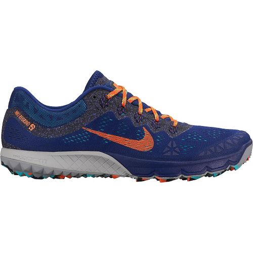 Mens Nike Air Zoom Terra Kiger 2 Trail Running Shoe - Blue 8.5