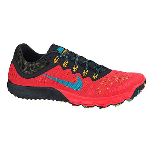 Mens Nike Air Zoom Terra Kiger 2 Trail Running Shoe - Dark Red/Bright Crimson 8 ...