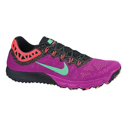 Air Womens Nike Zoom Terra Kiger 2 Trail Running Shoe - Fuchsia/Black 8