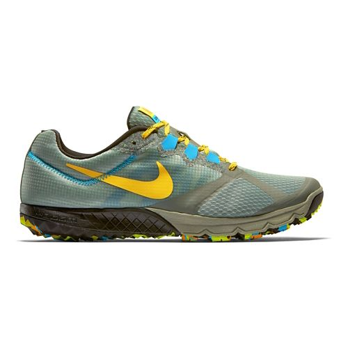 Mens Nike Air Zoom Wildhorse 2 Trail Running Shoe - Stone 11.5