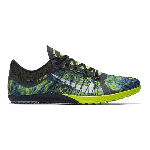 Nike Zoom Victory Waffle 3 Cross Country Shoe - Volt/Blue 7.5