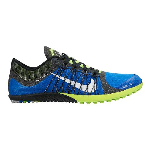 Nike Zoom Victory Waffle 3 Cross Country Shoe - Blue/Volt 5