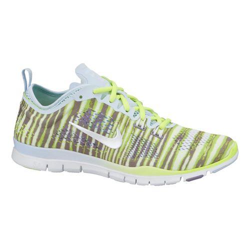 Womens Nike Free 5.0 TR Fit 4 Print Cross Training Shoe - Volt 6