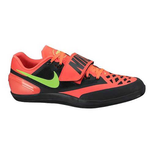 Nike Zoom Rotational 6 Track and Field Shoe - Black/Hyper 12.5