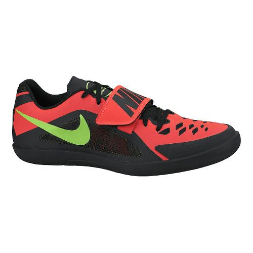 Mens Nike Zoom Rival SD 2 Track and Field Shoe - Black/Hyper 4.5