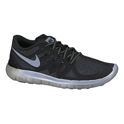 Kids Nike Free 5.0 Flash (GS) Running Shoe - Black 3.5