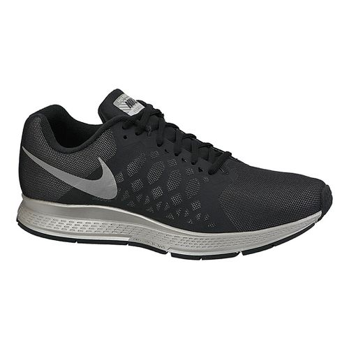 Mens Nike Air Zoom Pegasus 31 Flash Running Shoe - Black 12.5