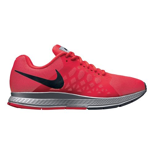 Mens Nike Air Zoom Pegasus 31 Flash Running Shoe - Red 8.5