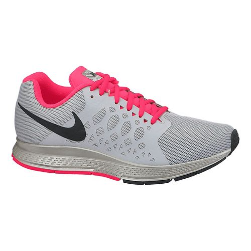 Womens Nike Air Zoom Pegasus 31 Flash Running Shoe - Grey 6.5