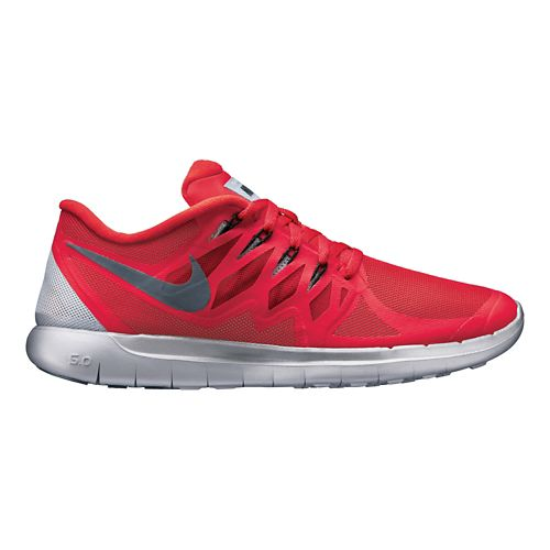 Mens Nike Free 5.0 Flash Running Shoe - Red 11.5