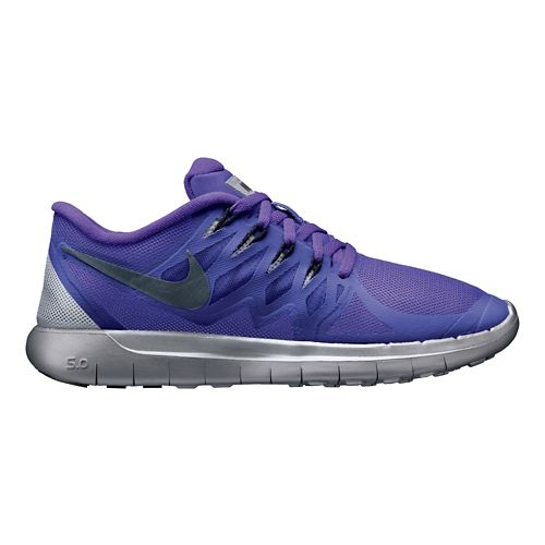 Womens Nike Free 5.0 Flash Running Shoe - Grape 10