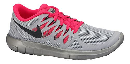 Womens Nike Free 5.0 Flash Running Shoe - Grey 6