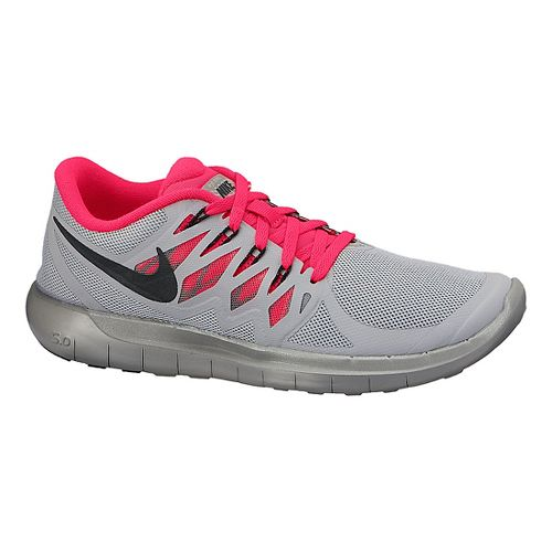 Womens Nike Free 5.0 Flash Running Shoe - Grey 8.5