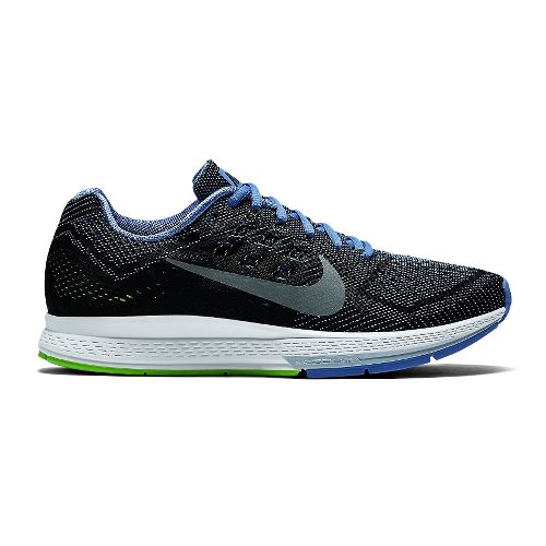 Womens Nike Air Zoom Structure 18 Running Shoe - Black/Polar 10