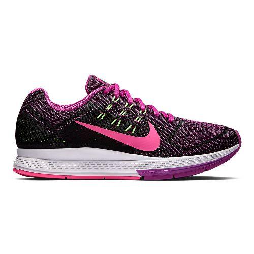 Womens Nike Air Zoom Structure 18 Running Shoe - Fuschia 10