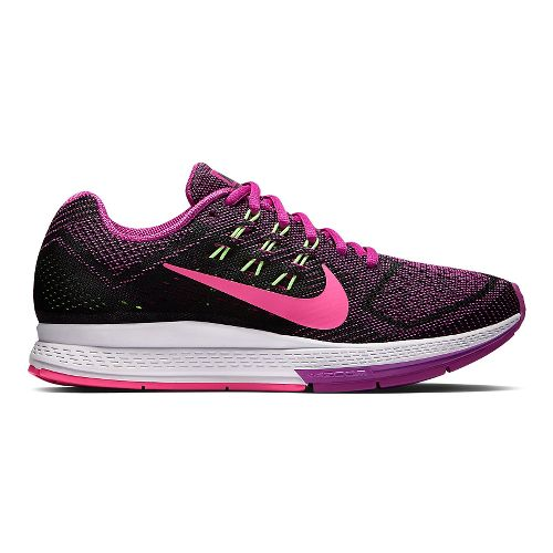 Womens Nike Air Zoom Structure 18 Running Shoe - Fuschia 11