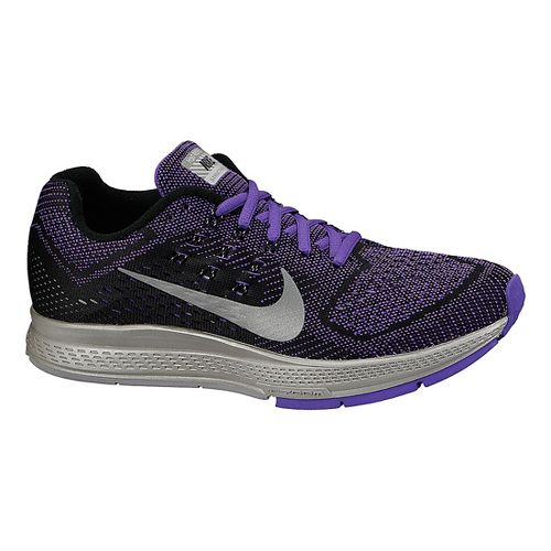 Womens Nike Air Zoom Structure 18 Flash Running Shoe - Grape 6