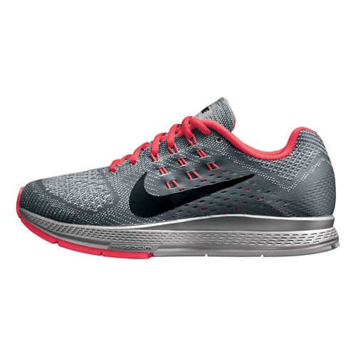 Womens Nike Air Zoom Structure 18 Flash Running Shoe - Grey 10.5