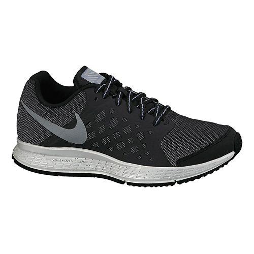 Kids Nike Air Zoom Pegasus 31 Flash (GS) Running Shoe - Black 6