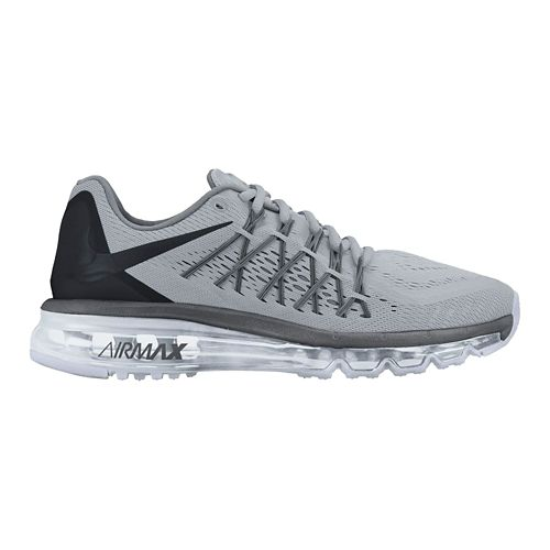 Mens Nike Air Max 2015 Running Shoe - Grey 12.5