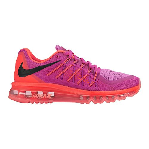Womens Nike Air Max 2015 Running Shoe - Fuchsia 10.5