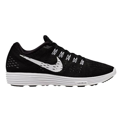 Mens Nike LunarTempo Running Shoe - Black/White 10