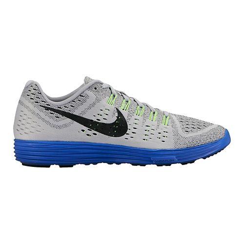 Mens Nike LunarTempo Running Shoe - Grey/Royal 10.5