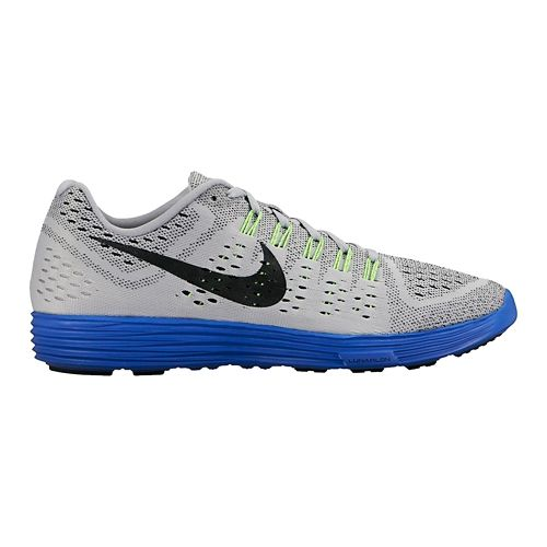 Mens Nike LunarTempo Running Shoe - Grey/Royal 12
