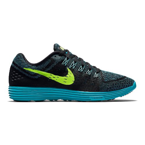 Mens Nike LunarTempo Running Shoe - Black/Blue 10