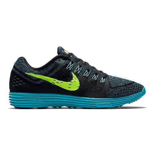 Mens Nike LunarTempo Running Shoe - Navy/Orange 12.5