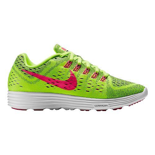 Womens Nike LunarTempo Running Shoe - Volt 10.5